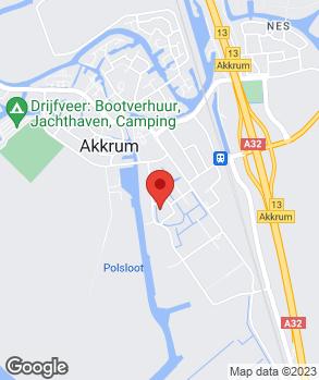 Locatie Auto Akkrum op kaart
