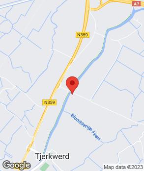 Locatie Autoservice Tjerkwerd op kaart