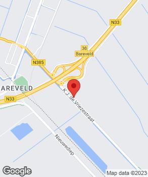 Locatie Garage van Damme V.O.F. op kaart