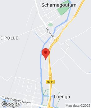 Locatie Scharneauto's op kaart