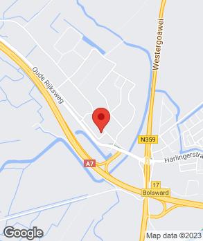 Locatie Stoebo op kaart