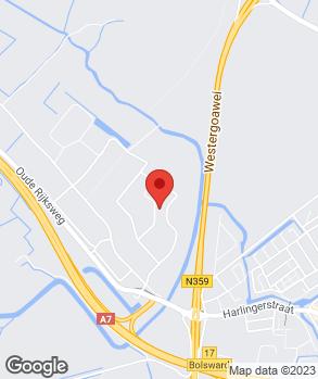 Locatie Autoservice De Marne op kaart