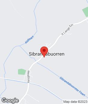 Locatie Autofarm Sybrandaburen V.O.F. op kaart