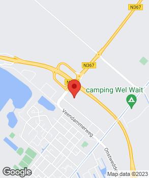 Locatie Autohandel Lamein op kaart
