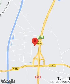 Locatie Geba Auto B.V. op kaart