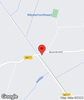 Locatie JG Klooster Auto's op kaart