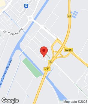 Locatie Nijwa Veendam op kaart