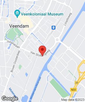 Locatie Autobedrijf Bas Antema op kaart