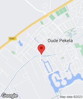 Locatie Garagebedrijf G.H. Vos op kaart
