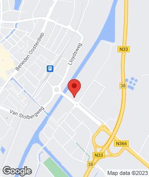 Locatie Profile Car & Tyreservice Heuver Veendam op kaart