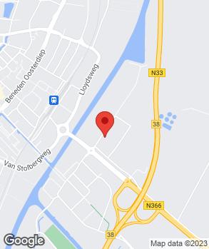 Locatie Euromaster Veendam op kaart