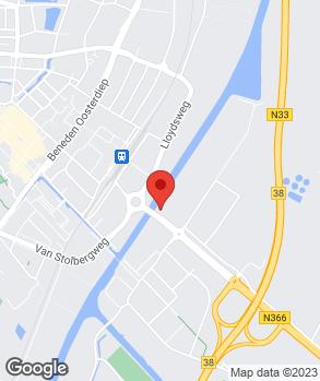 Locatie Hesse Automobielen op kaart