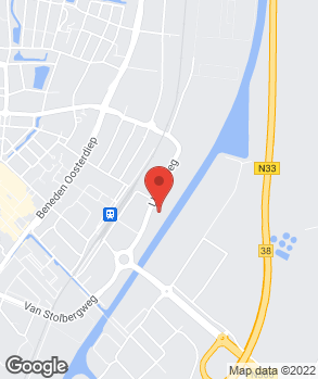 Locatie Louwman Veendam op kaart