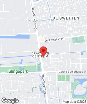 Locatie Auto-Centrale Drachten op kaart