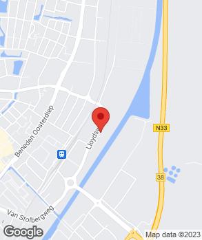 Locatie Manfred van Dijk Auto's V.O.F. op kaart