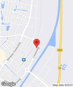 Locatie Autobedrijf Bockhoudt Veendam B.V. op kaart