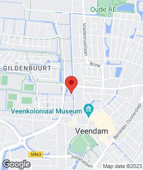 Locatie PJ Autotechniek op kaart