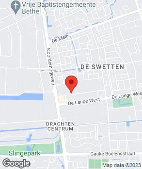 Locatie Garagebedrijf Kijlstra op kaart