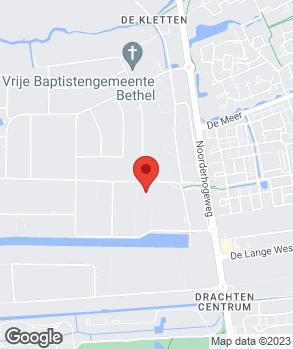 Locatie Autobedrijf Van den Akker Drachten B.V. op kaart