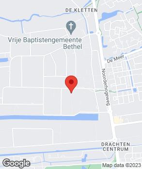 Locatie Autobedrijven Van der Wal op kaart