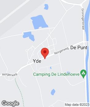 Locatie Garagebedrijf E.J. Wekema op kaart
