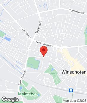 Locatie Autobedrijf Miedema B.V. op kaart