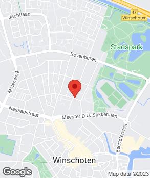 Locatie Autobedrijf T. Kloostra op kaart
