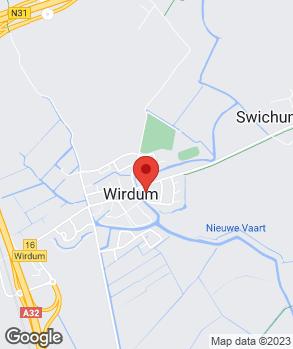 Locatie Van der Werff op kaart
