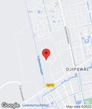 Locatie CSP Car Service Point Leek op kaart