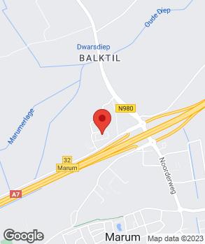 Locatie Autobedrijven Esa Marum B.V. op kaart