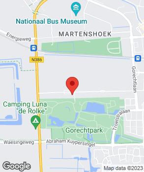 Locatie Autohandel Hut op kaart