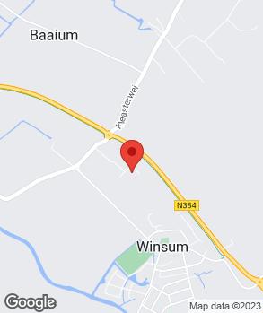 Locatie Autohuis Winsum op kaart
