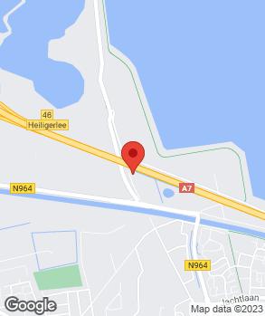 Locatie D. van Dijk op kaart