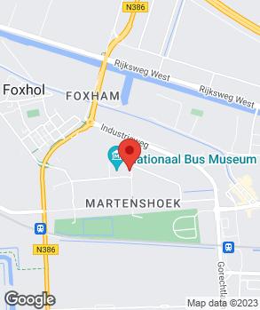 Locatie Autocentrum Hoogezand op kaart
