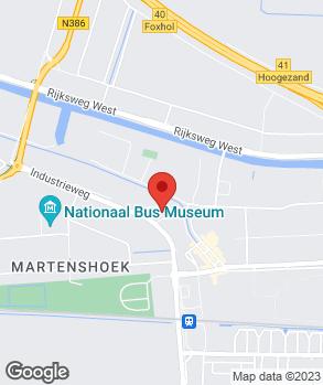 Locatie Kloetstra op kaart