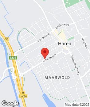 Locatie SternPoint Haren op kaart