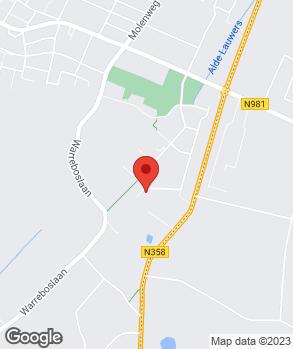 Locatie Bijlsma Auto's op kaart
