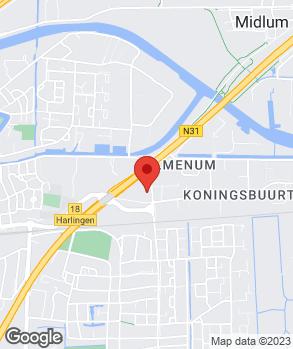 Locatie Dijkstra Auto's B.V. op kaart