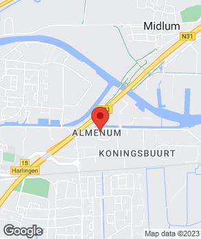 Locatie Auto Service Harlingen B.V. op kaart