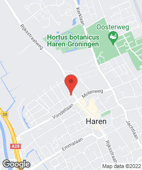 Locatie Auto De Groot Haren B.V. op kaart