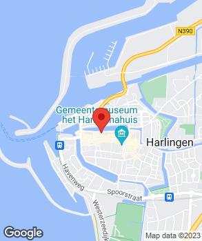 Locatie W. Nieuwhof op kaart