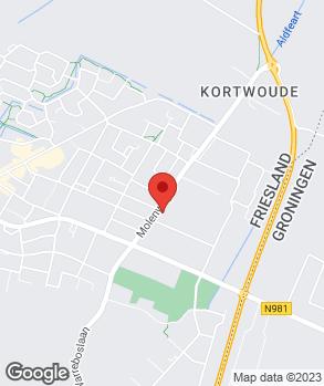 Locatie Garage H. de Vries V.O.F. op kaart