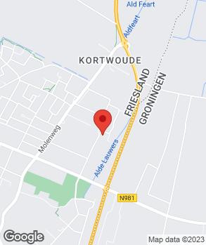 Locatie Jansma Auto's op kaart