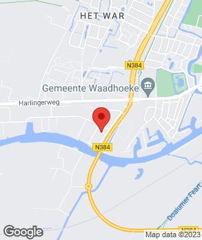 Locatie Deinum Franeker B.V. op kaart