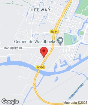 Locatie Haaima Franeker op kaart