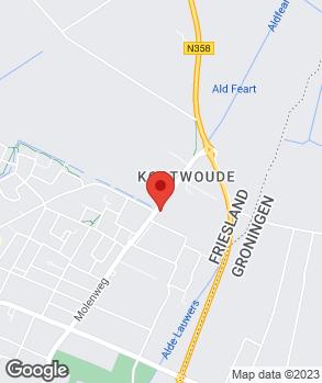Locatie N Nederlands Automob.bdr. Surhuisterveen B.V. op kaart