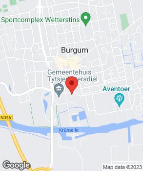 Locatie Automobielbedrijf Bouma en Sepp Bergum B.V. op kaart