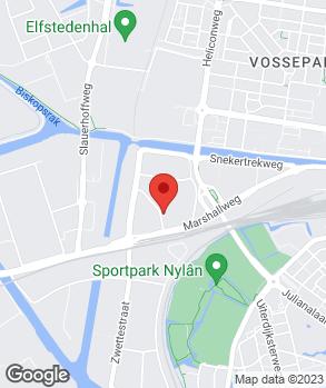 Locatie Marshall Auto's op kaart