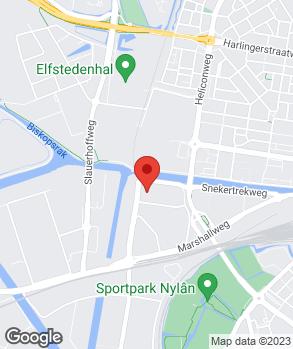Locatie Autohandel Steneker op kaart