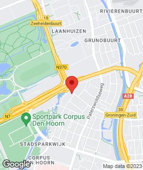 Locatie Garage W.H. Rozema op kaart